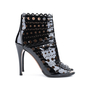 Authentic Second Hand Azzedine Alaïa Laser-cut leather ankle boots (PSS-193-00124) - Thumbnail 1
