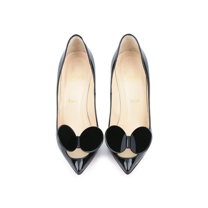 Authentic Second Hand Christian Louboutin Madame Mouse Court Shoes (PSS-420-00048)