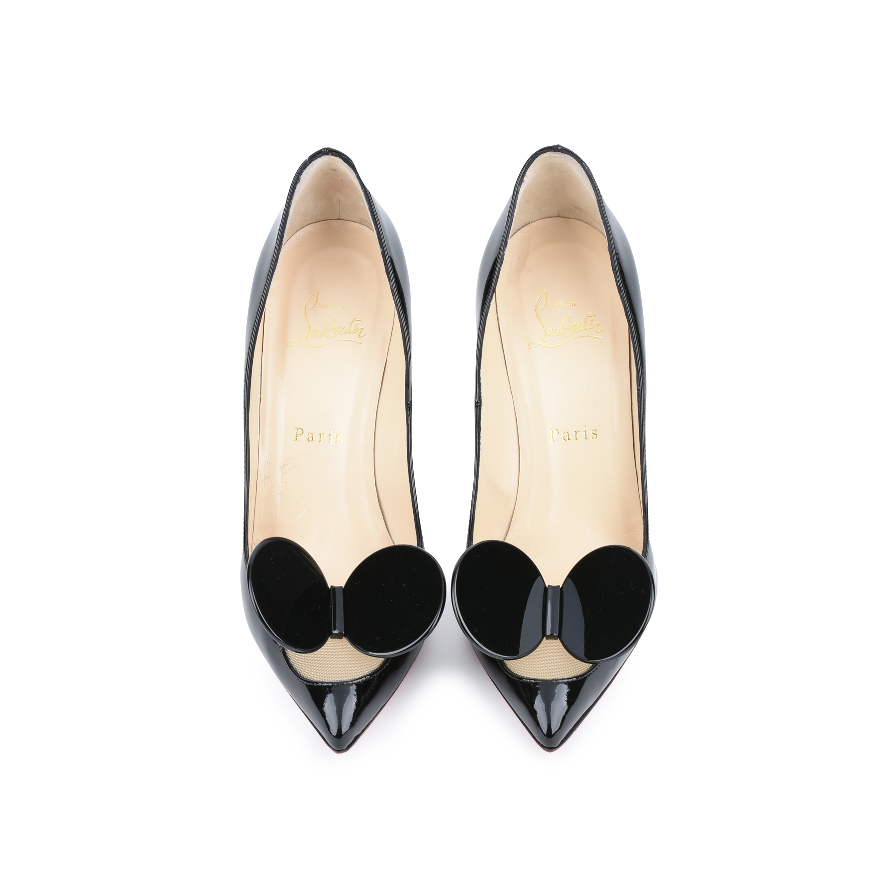 5b37e2586b7 Authentic Second Hand Christian Louboutin Madame Mouse Court Shoes  (PSS-420-00048)