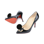 Authentic Second Hand Christian Louboutin Madame Mouse Court Shoes (PSS-420-00048) - Thumbnail 1