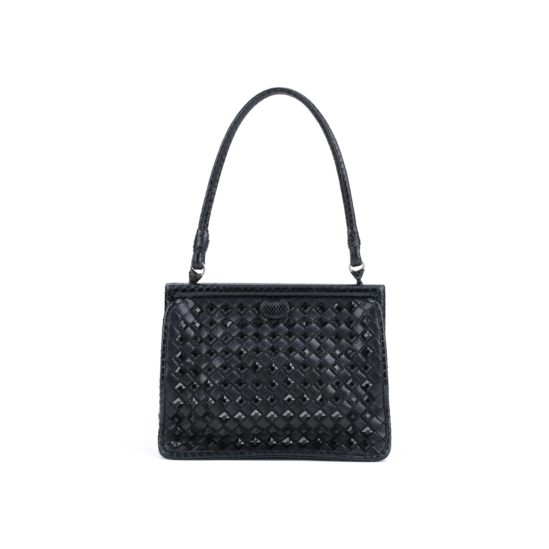 e3d9c9527d2 Authentic Pre Owned Bottega Veneta Intrecciato Evening Bag (PSS-420-00038)    THE FIFTH COLLECTION®