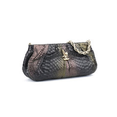 Chanel python shoulder bag 2?1514457175