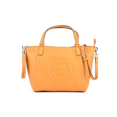 Soho Leather Top Handle Bag