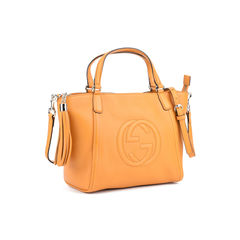 Gucci soho leather top handle bag 2?1514457343