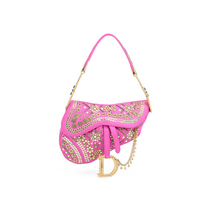 Christian Dior India Saddle Bag