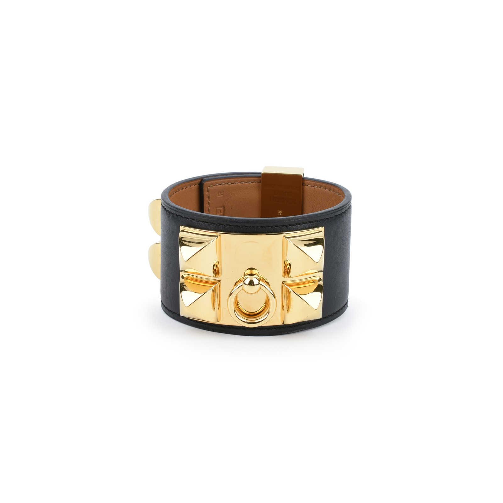 Authentic Pre Owned Hermès Collier De Chien Bracelet Pss 420 00019