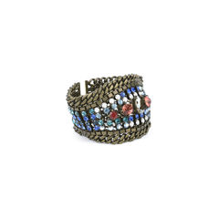 Dannijo multicolour chain bracelet 4?1514882247