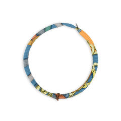 Petit H Plissé Silk Necklace