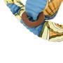 Authentic Second Hand Hermès Petit H Plissé Silk Necklace (PSS-420-00029) - Thumbnail 3