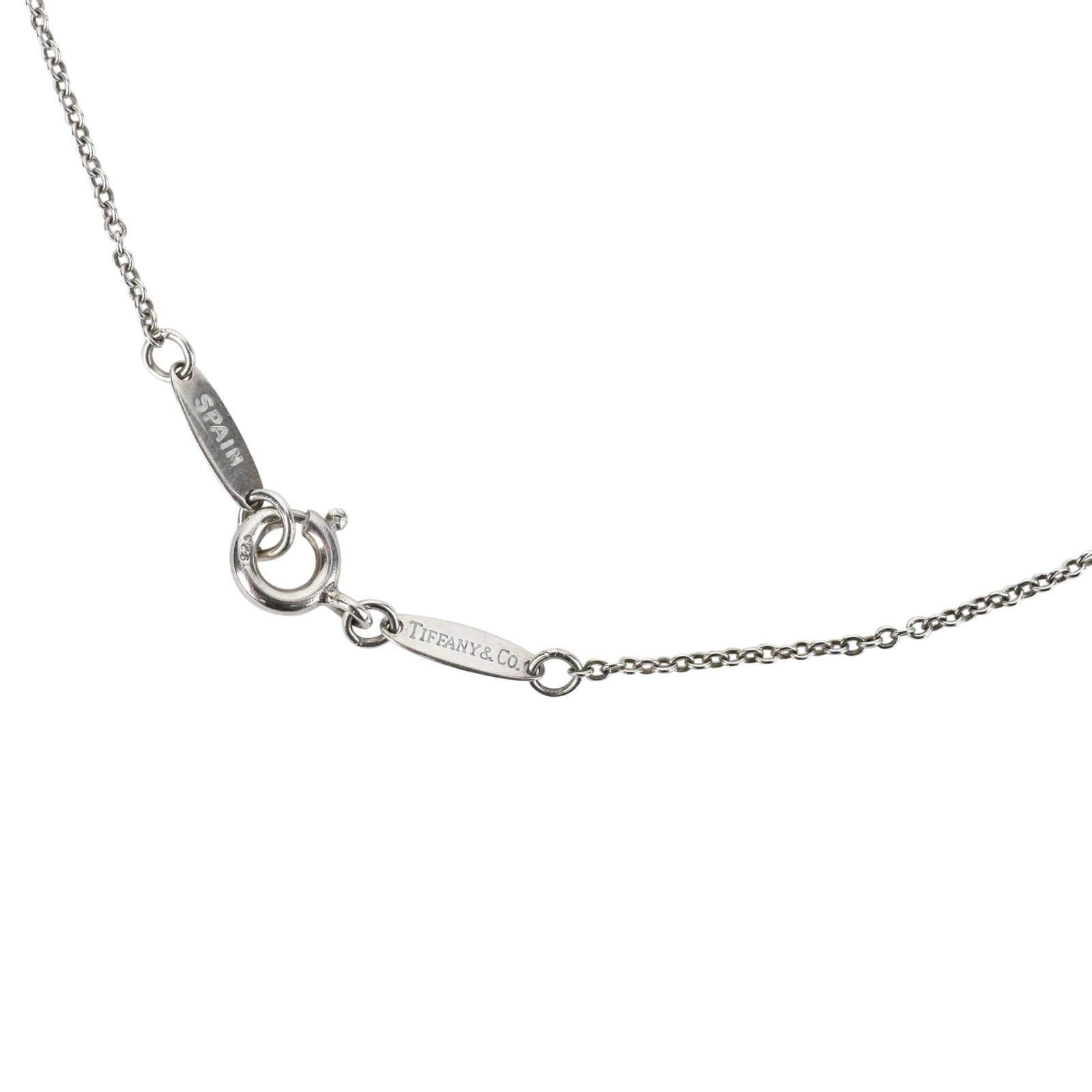 Tiffany and co letter necklace the best letter 2018 elsa peretti letter k pendant in sterling silver small aloadofball Image collections