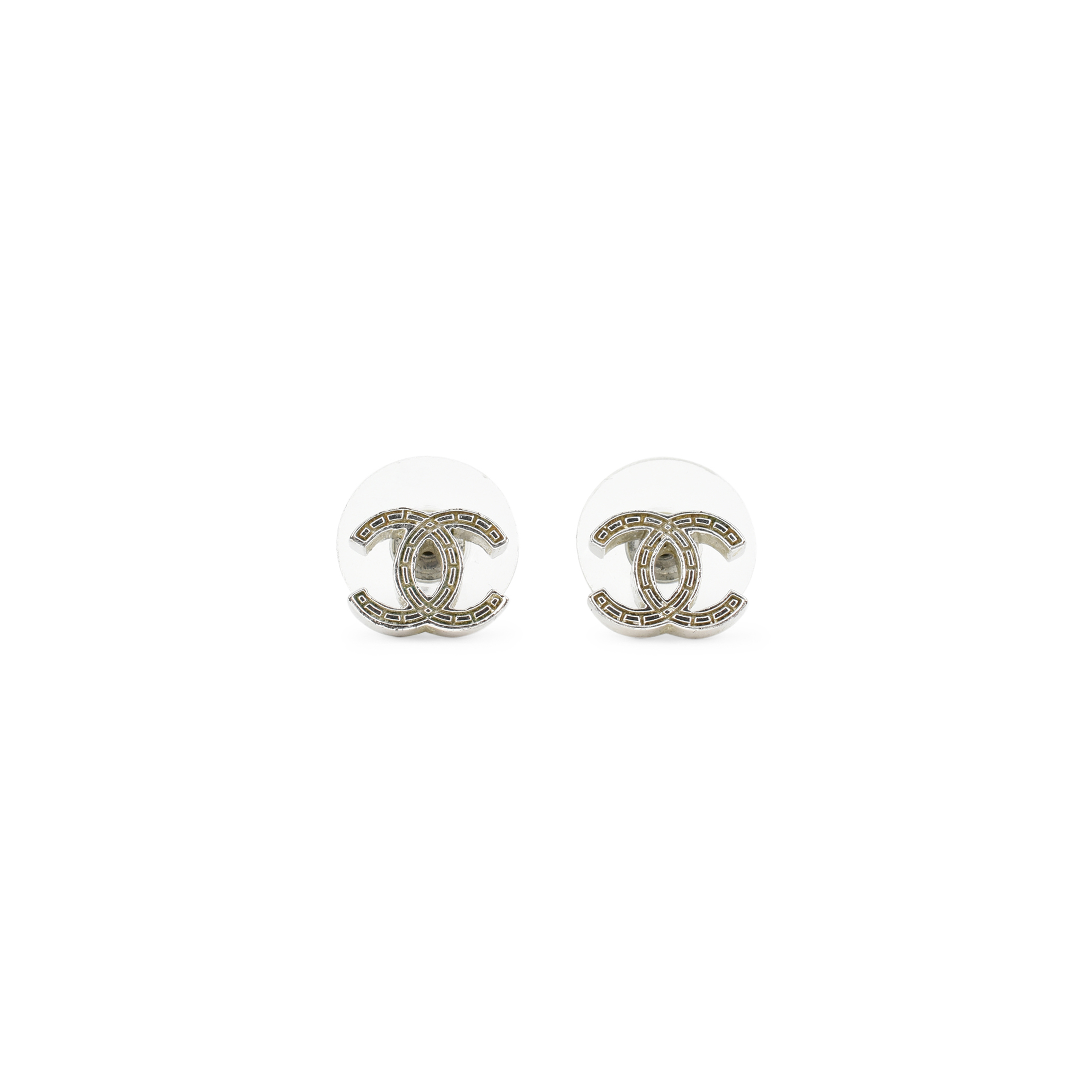 69c2c6fd6 Authentic Second Hand Chanel CC Earrings (PSS-436-00009) - THE FIFTH  COLLECTION