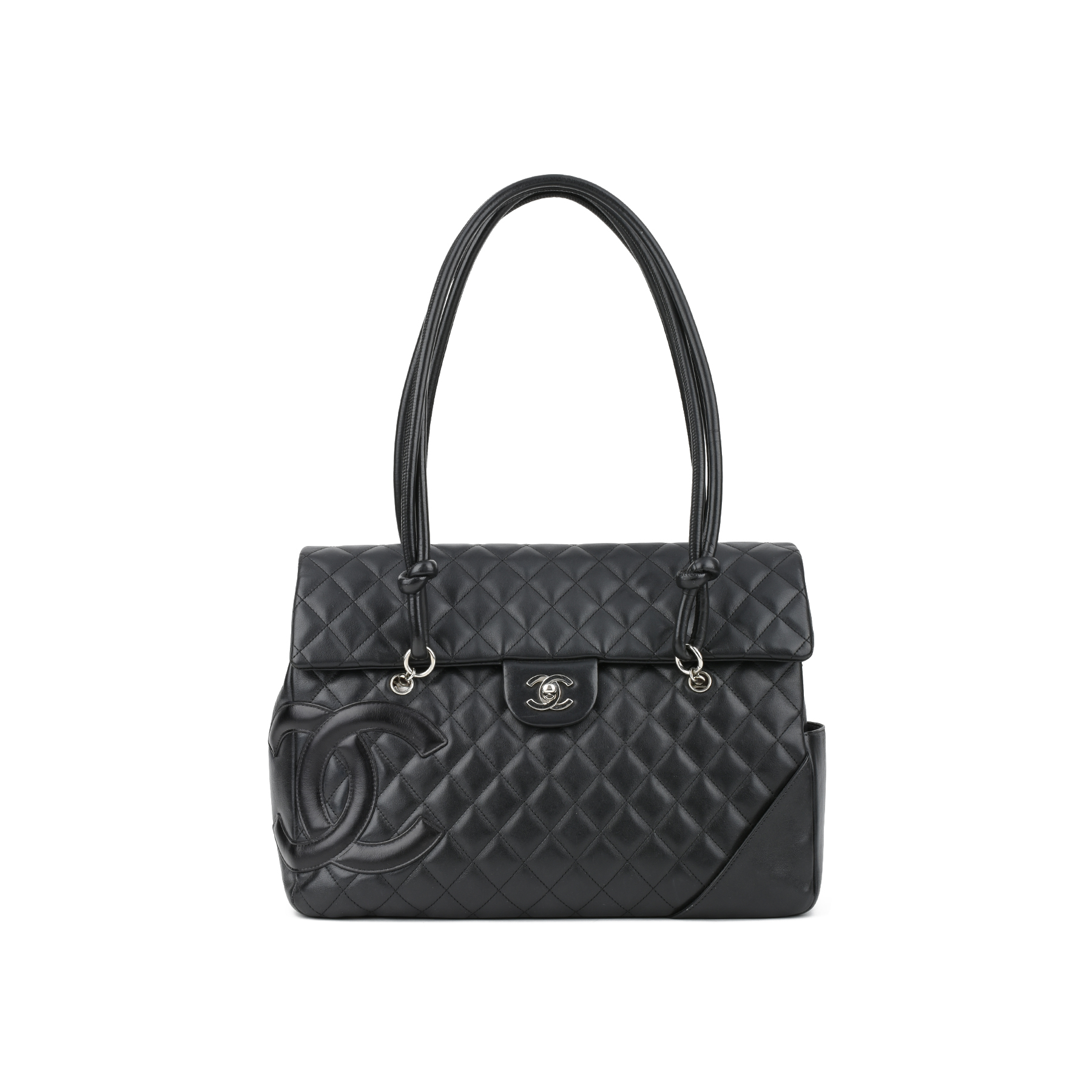 7de35e782543 Authentic Second Hand Chanel Large Quilted CC Cambon Flap Tote Bag  (PSS-436-00023) | THE FIFTH COLLECTION