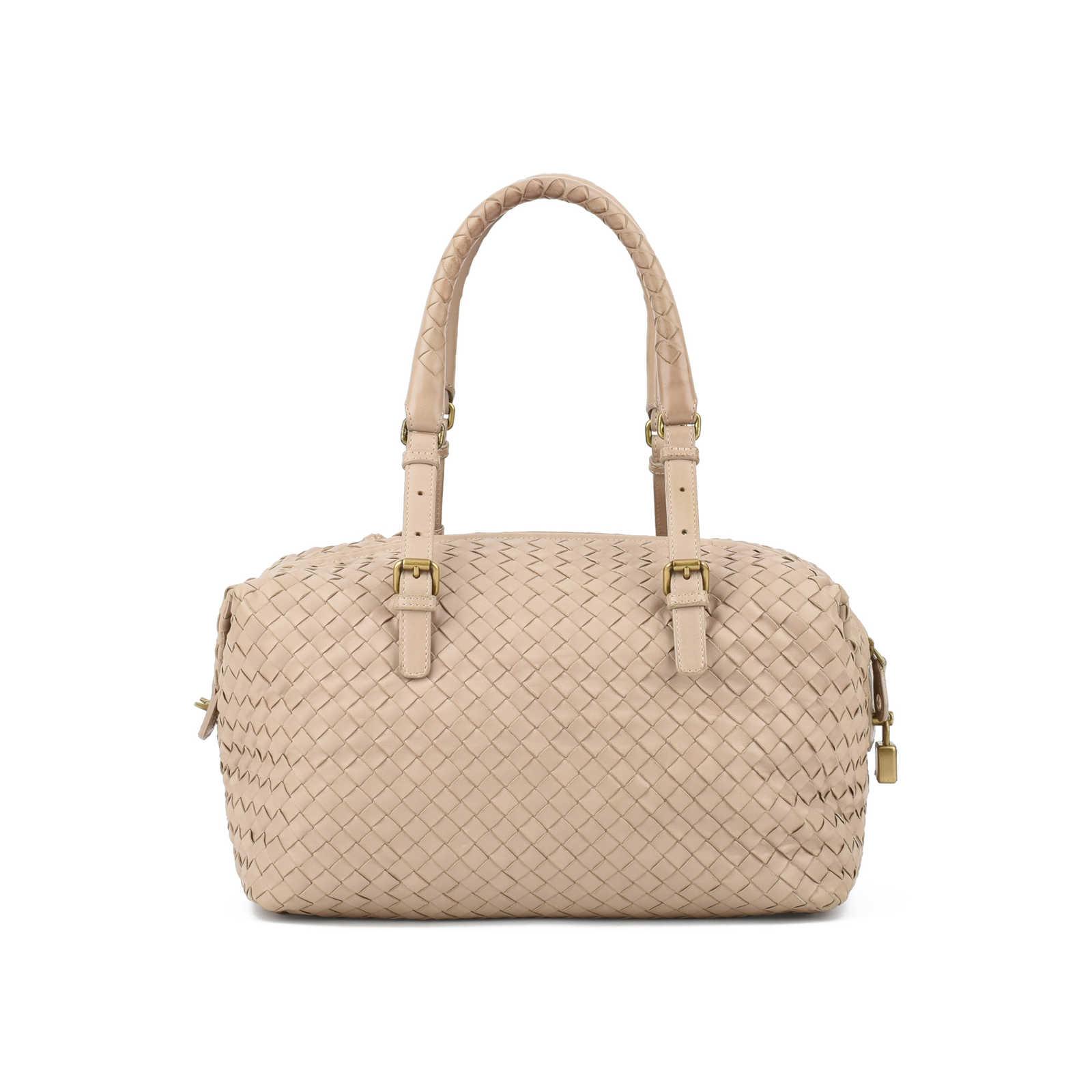 330a9de422 ... Authentic Second Hand Bottega Veneta Intrecciato Nappa Montaigne Bag  (PSS-436-00026) ...