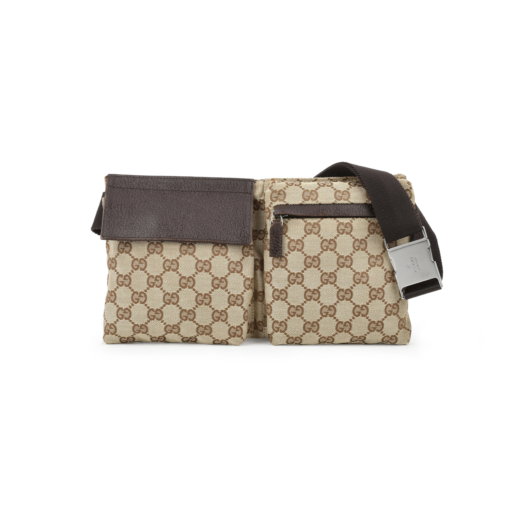0bffb18bb2a4 Authentic Second Hand Gucci Monogram Belt Bag (PSS-436-00006)