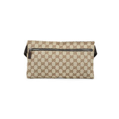 Gucci monogram belt bag brown 2?1515040289