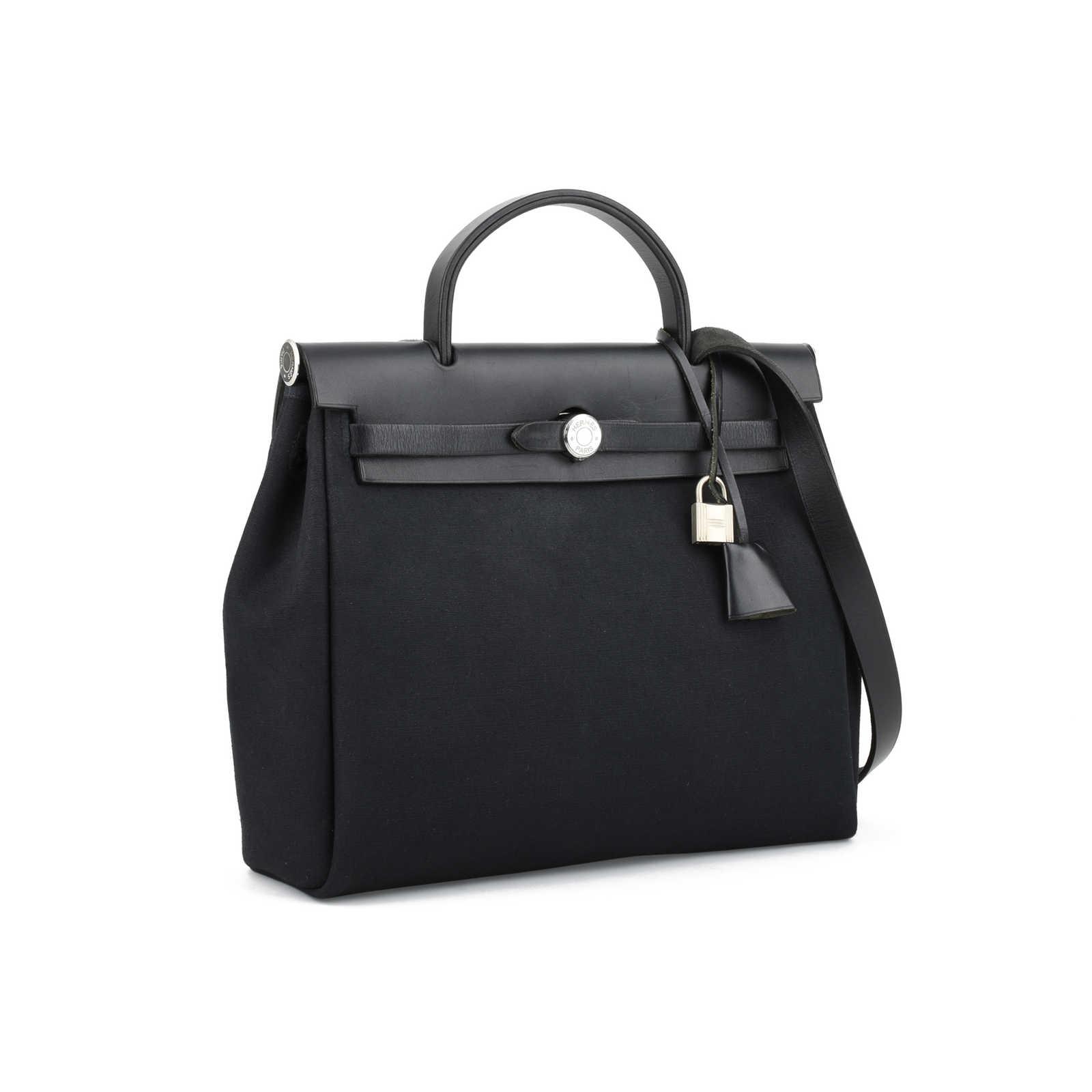 3b2f7a861b3a ... Authentic Second Hand Hermès Herbag PM (PSS-355-00022) - Thumbnail 9 ...