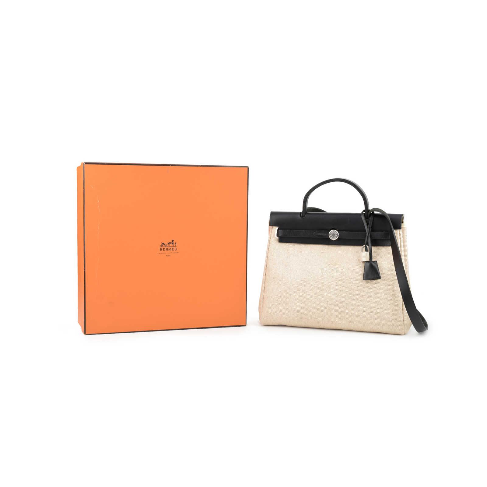 b08126c41c20 ... Authentic Second Hand Hermès Herbag PM (PSS-355-00022) - Thumbnail 14