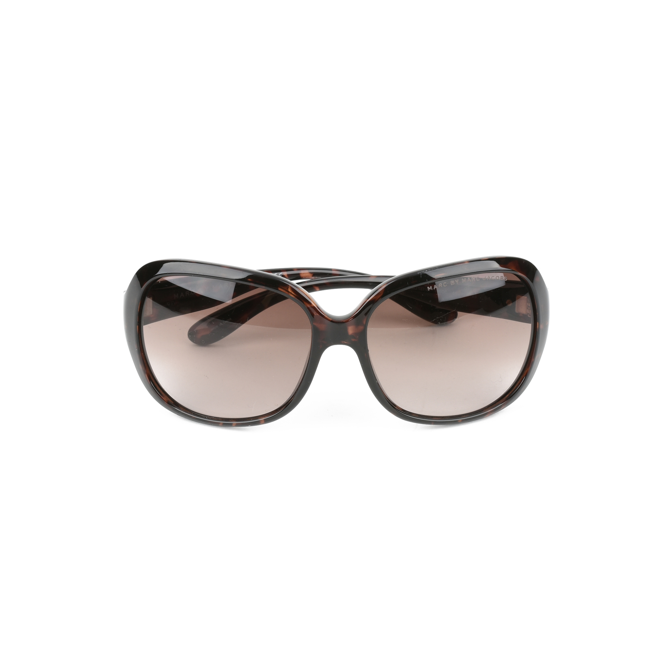 e8ab79cb28 Authentic Second Hand Marc by Marc Jacobs Round Frame Tortoise Shell  Sunglasses (PSS-153-00010)