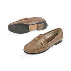 Gucci patent horsebit loafers brown 2?1515126694