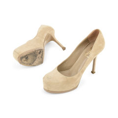 Yves saint laurent suede tribtoo pumps 2?1515126952