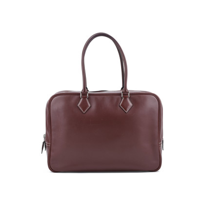 Authentic Second Hand Hermès Plume 32 Bag (PSS-075-00078)