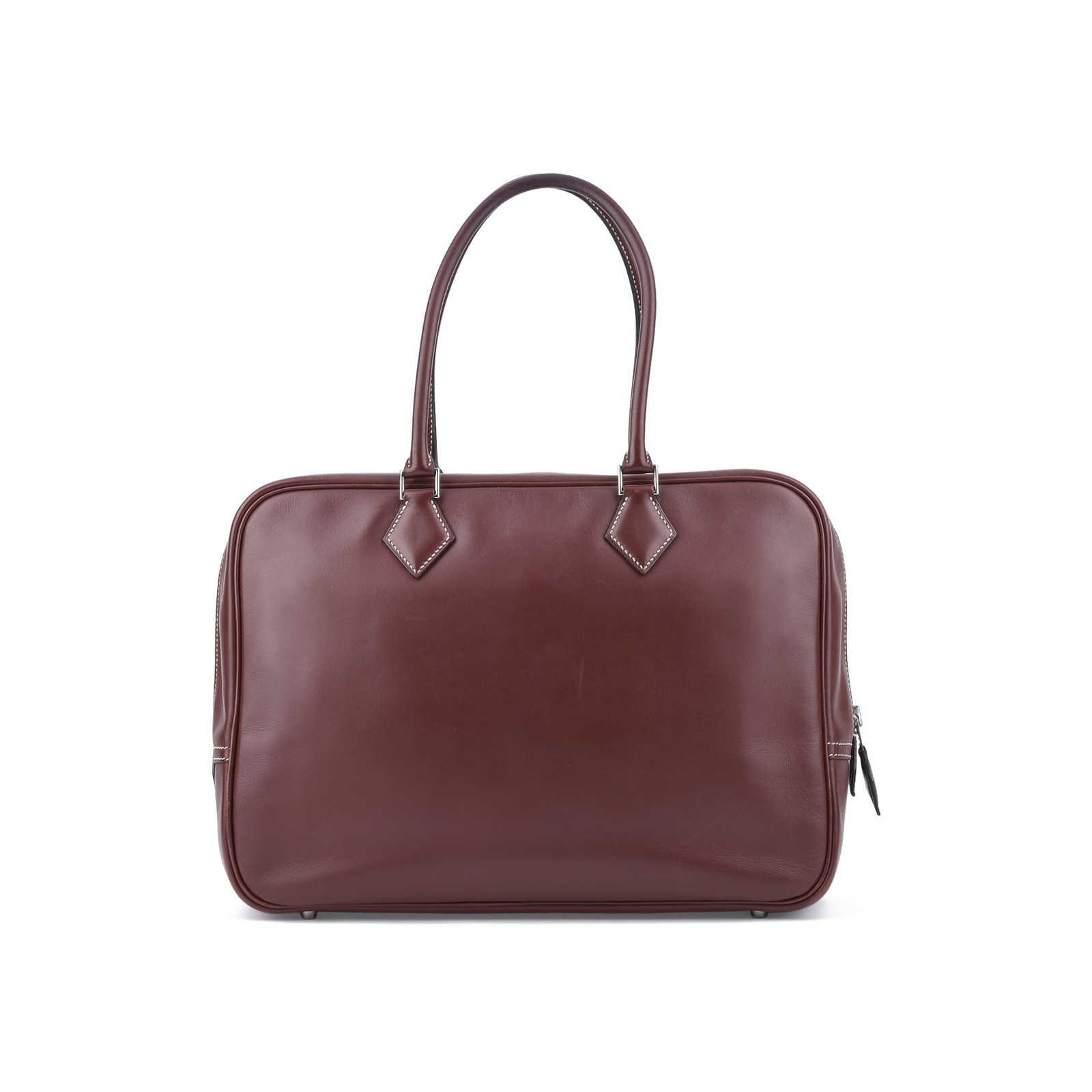 7073342b1f ... Authentic Second Hand Hermès Plume 32 Bag (PSS-075-00078) - Thumbnail  ...