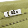 Authentic Pre Owned Hermès Vert Anis Chevre Mysore Kelly 28 (PSS-075-00081) - Thumbnail 4