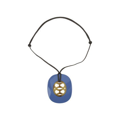 Second hand hermes lift pendant large blue the fifth collection hermes lift pendant large blue aloadofball Gallery