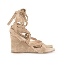 Gianvito rossi suede wedge sandals 2?1515469155