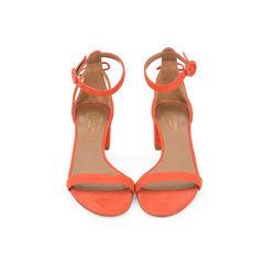 Pixie Suede Block-Heel Sandals