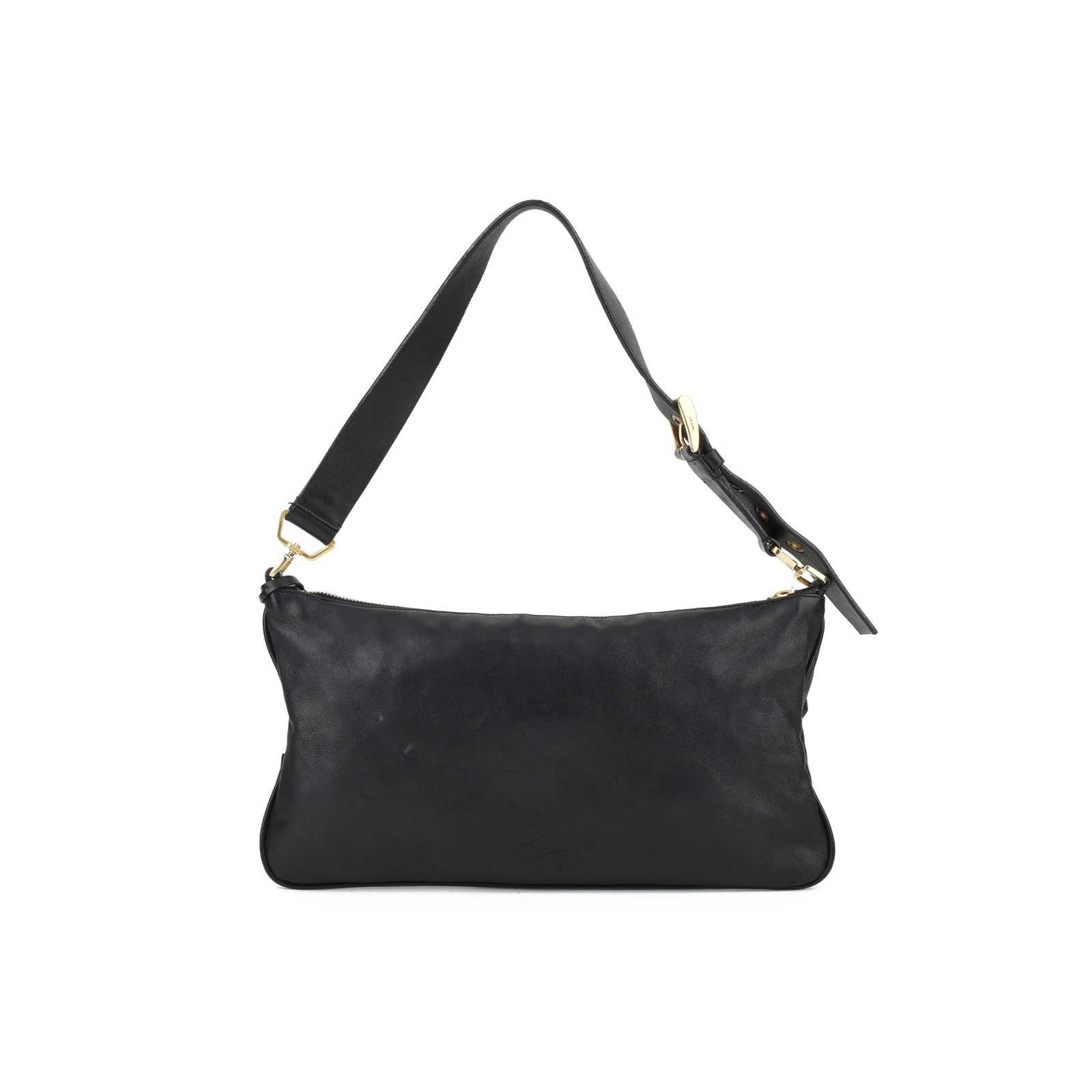 ebb49d54c2ce ... Authentic Second Hand Prada Lock and Key Shoulder Bag (PSS-126-00053)  ...