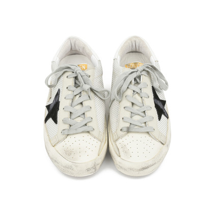 """Authentic Second Hand Golden Goose Deluxe Brand """"Super Star"""" Low Sneakers (PSS-200-00929)"""
