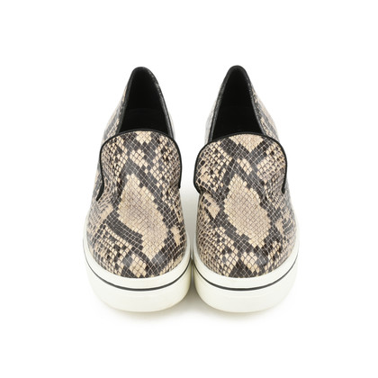 Authentic Second Hand Stella McCartney Python-Print Platform Loafers (PSS-200-00931)