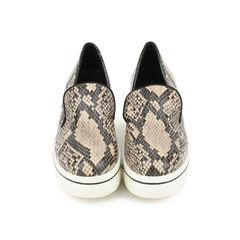 Python-Print Platform Loafers