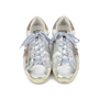 Authentic Second Hand Golden Goose Deluxe Brand Super Star Glitter Metallic Leather Sneakers (PSS-200-00933) - Thumbnail 0