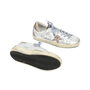 Authentic Second Hand Golden Goose Deluxe Brand Super Star Glitter Metallic Leather Sneakers (PSS-200-00933) - Thumbnail 4