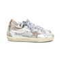 Authentic Second Hand Golden Goose Deluxe Brand Super Star Glitter Metallic Leather Sneakers (PSS-200-00933) - Thumbnail 1