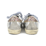 Authentic Second Hand Golden Goose Deluxe Brand Super Star Glitter Metallic Leather Sneakers (PSS-200-00933) - Thumbnail 2