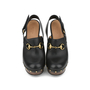 Authentic Second Hand Gucci Amstel Horsebit Leather Clog Pump (PSS-200-00934) - Thumbnail 0