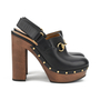 Authentic Second Hand Gucci Amstel Horsebit Leather Clog Pump (PSS-200-00934) - Thumbnail 1