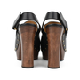 Authentic Second Hand Gucci Amstel Horsebit Leather Clog Pump (PSS-200-00934) - Thumbnail 2