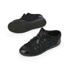 Chanel tweed cap toe sneakers 2?1516001899