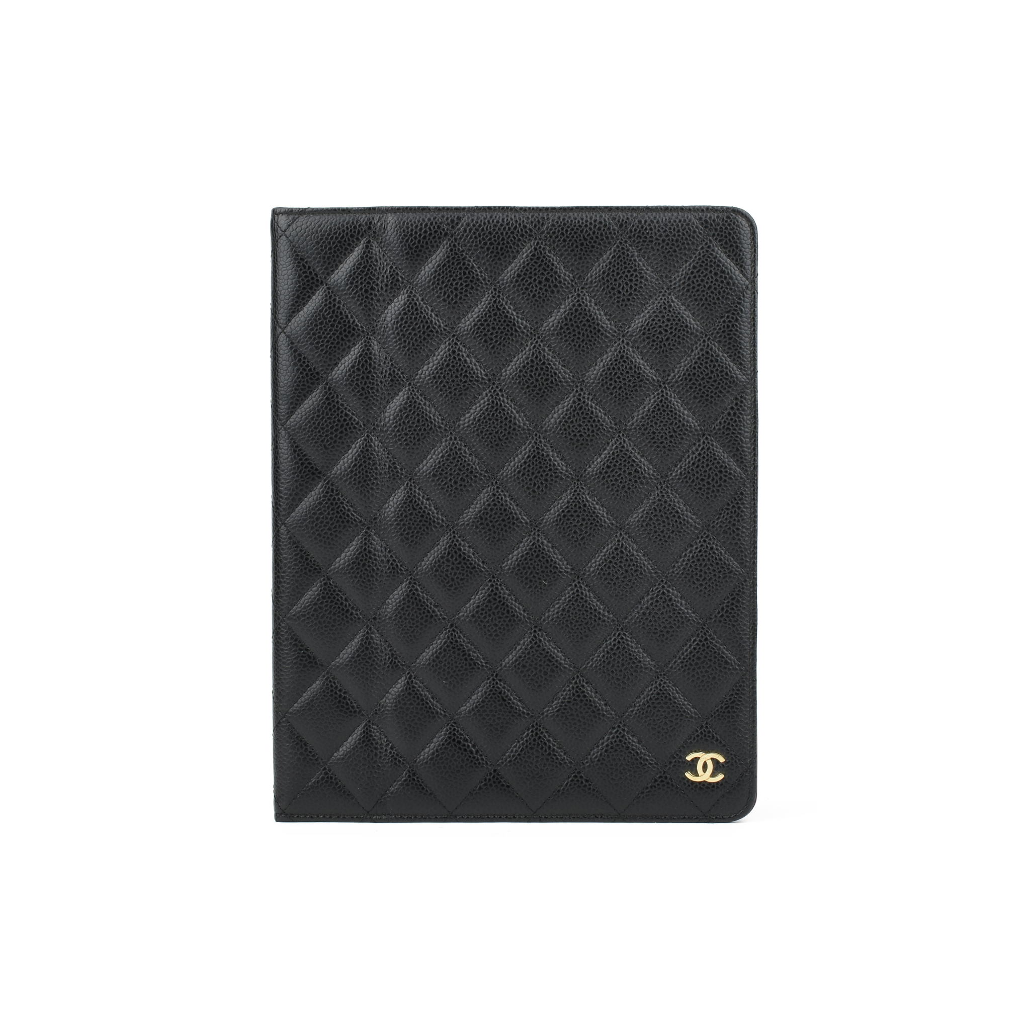 19ed81247f16 Authentic Second Hand Chanel Caviar Ipad Case (PSS-051-00280) | THE FIFTH  COLLECTION