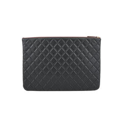 Chanel lambskin quilted pouch 2?1516001996