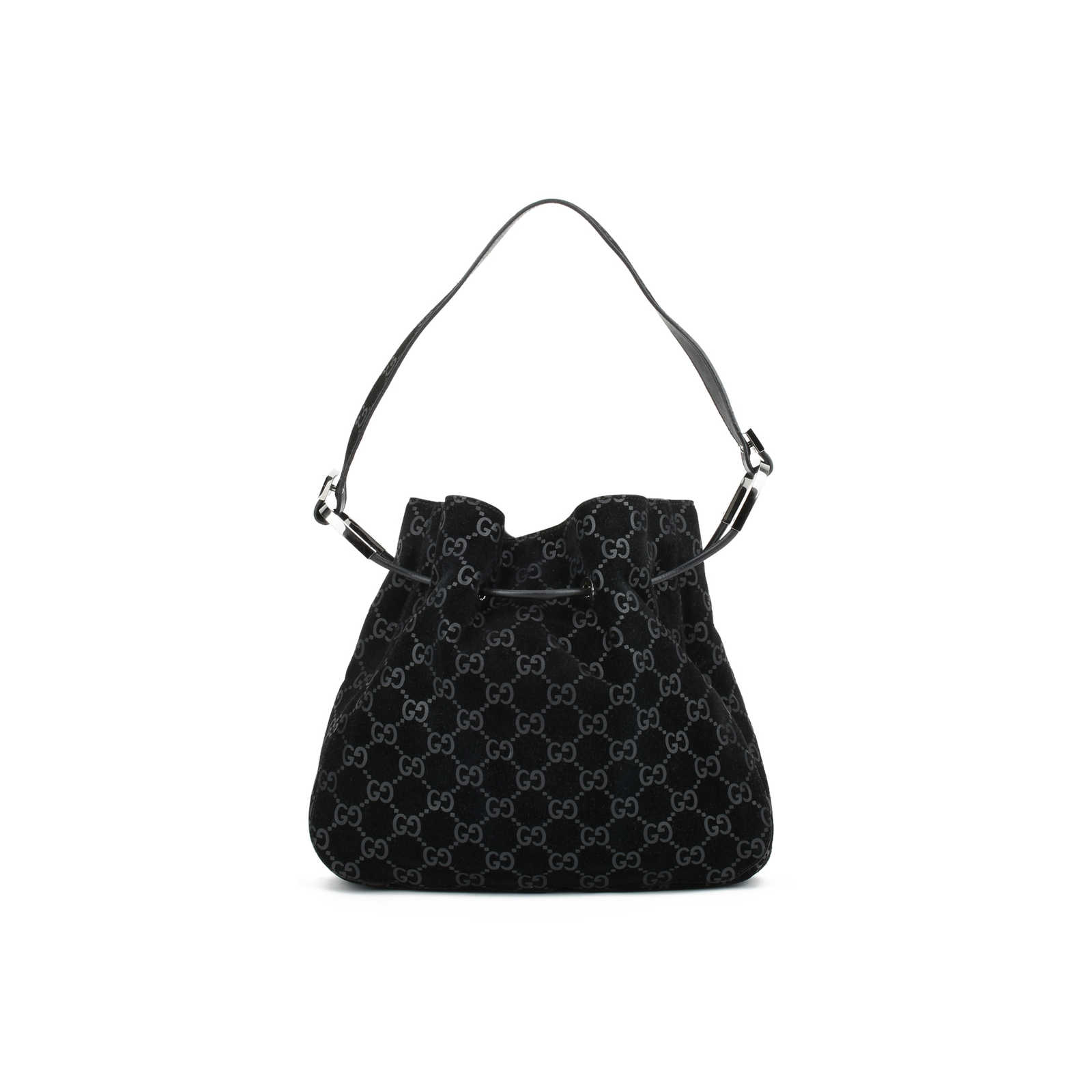 7b526edd7290 Authentic Second Hand Gucci Drawstring Shoulder Bag (PSS-415-00026) -  Thumbnail ...