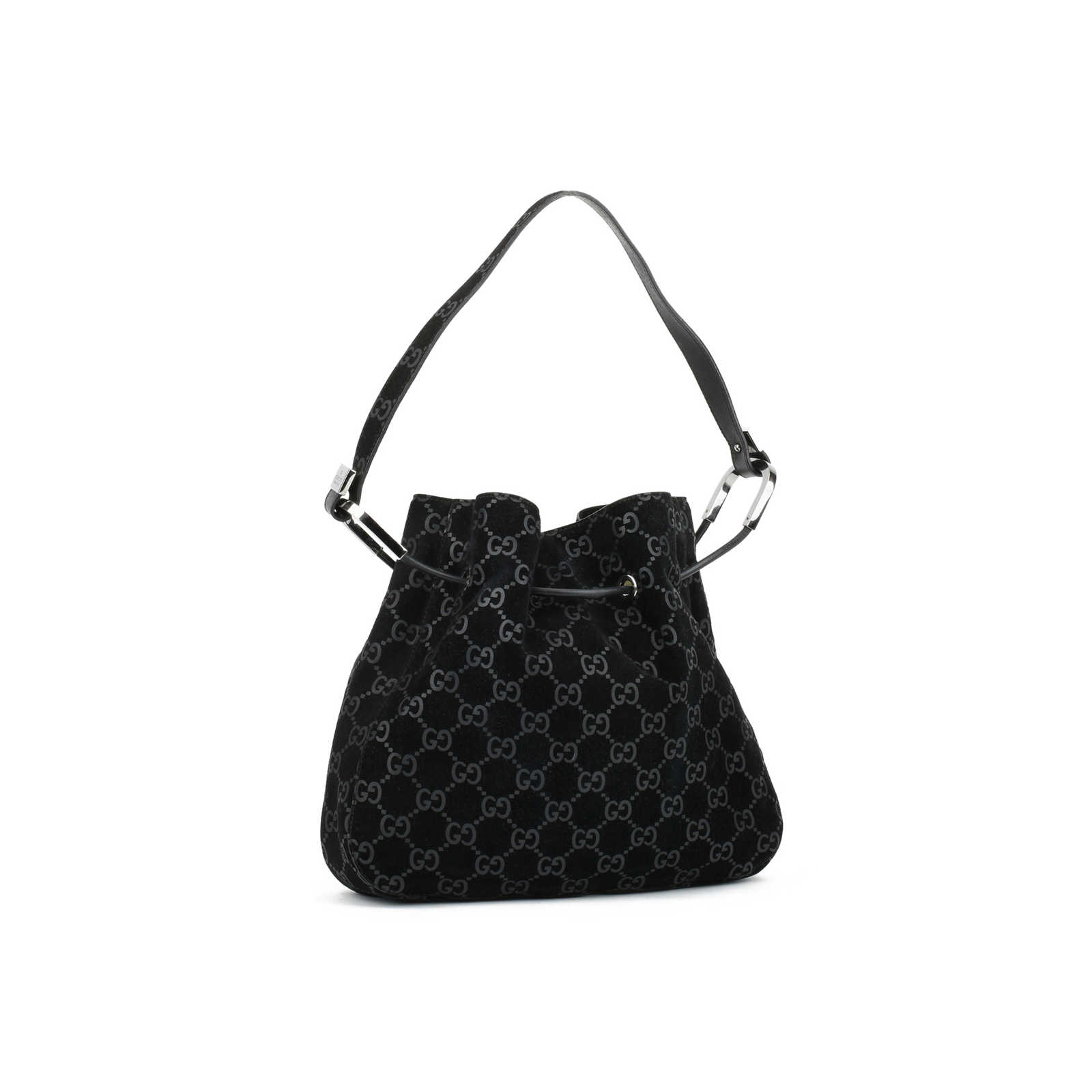 452783e818e7 ... Authentic Second Hand Gucci Drawstring Shoulder Bag (PSS-415-00026) -  Thumbnail ...