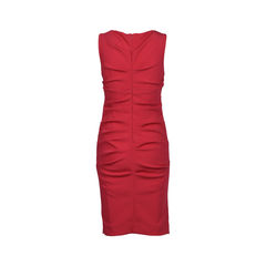 Nicole miller draped pencil dress 2?1516007075