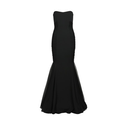 Authentic Second Hand Badgley Mischka Mermaid Strapless Gown (PSS-415-00029)