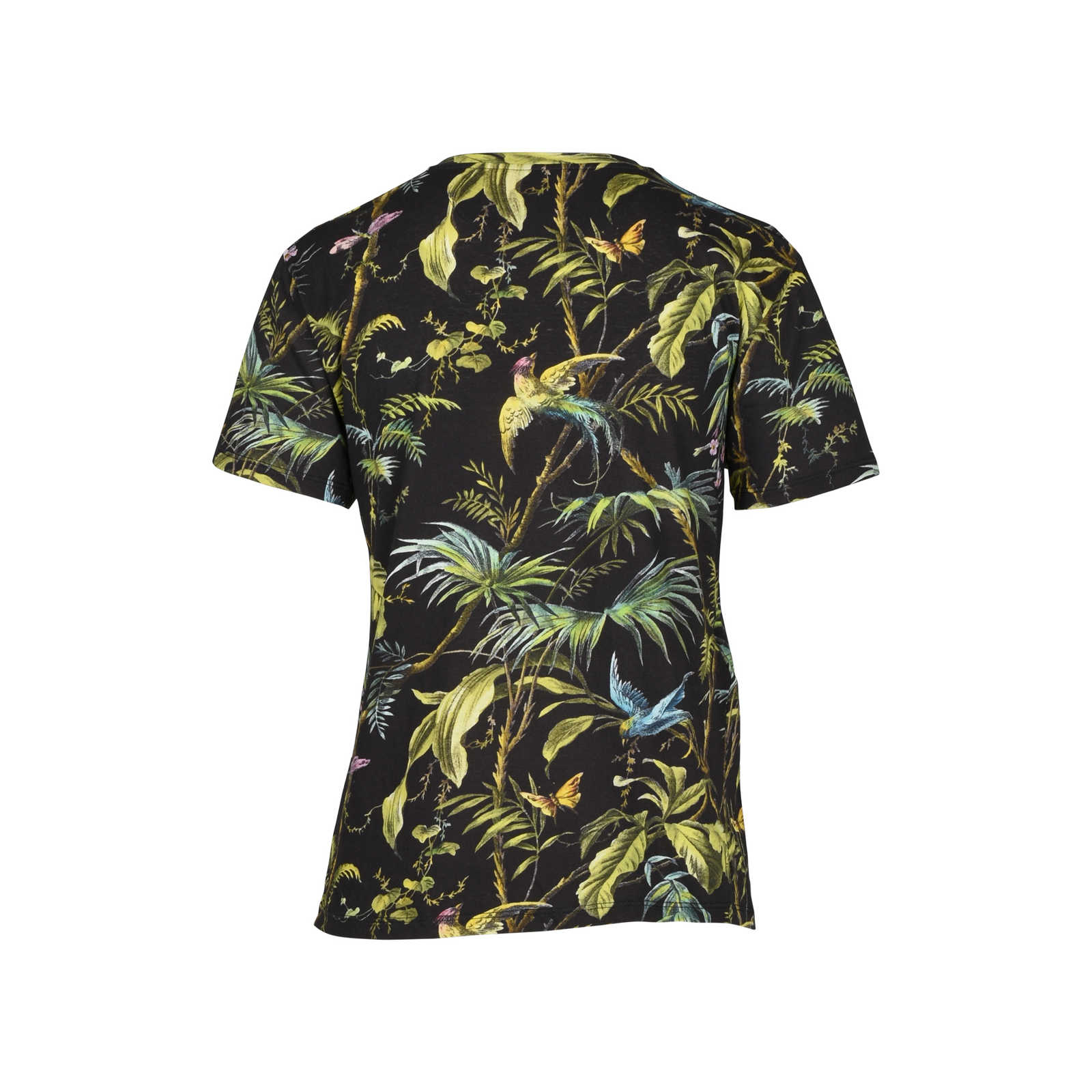f029e2505 ... Authentic Second Hand Gucci Tropical Print Jersey T-Shirt  (PSS-051-00306 ...