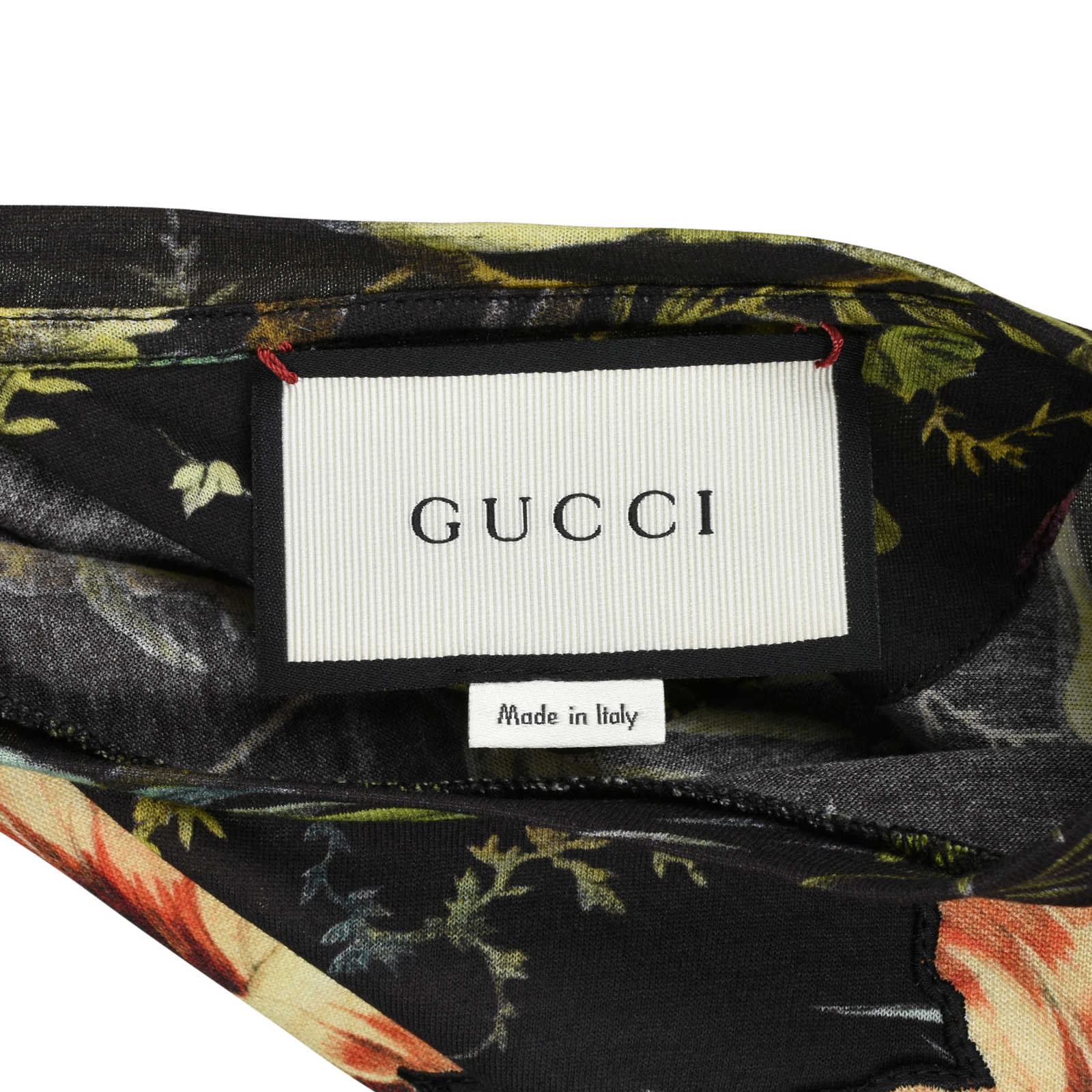 5ee9607bcf31 ... Authentic Second Hand Gucci Tropical Print Jersey T-Shirt (PSS-051-00306